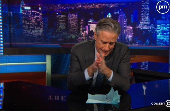 "Jon Stewart a rendu hommage à ""Charlie Hebdo"""