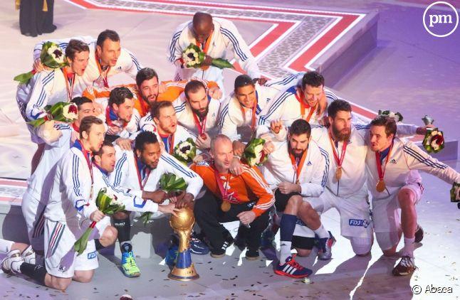 L'équipe de France de handball a décroché hier son cinquième titre mondial.