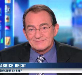 Jean-Pierre Pernaut, sur TF1.