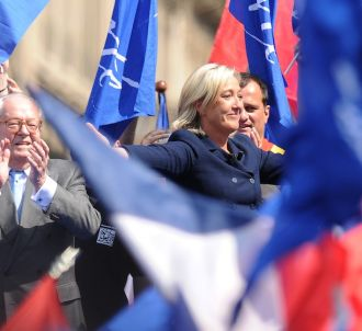 Marine Le Pen en 2011 à Paris