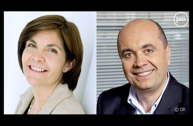 Céline Pigalle et Hervé Béroud
