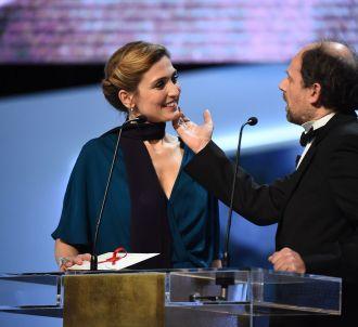 Julie Gayet et Denis Podalydes,lors de la 40ème Cérémonie...