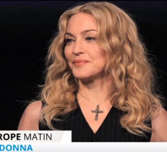 Madonna, interrogée dans la matinale d'Europe 1.