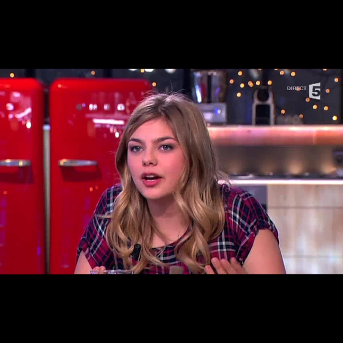 Louane dans c vous sur france 5 vid o puremedias - France 5 ca vous ...