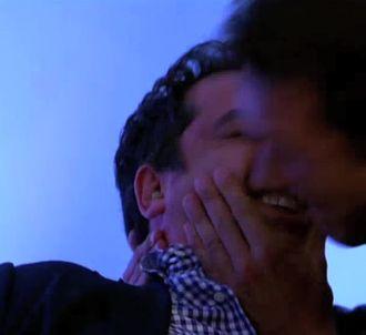 Patrick Cohen et Nicolas Bedos, dans 'C à vous'.