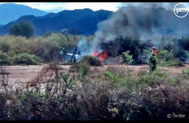 Crash d'hélicoptère sur le tournage d'une télé-réalité