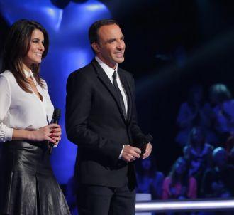 Karine Ferri et Nikos Aliagas dans 'The Voice' 2015