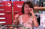 """Valérie Bonneton au bord des larmes dans """"C à vous"""""""