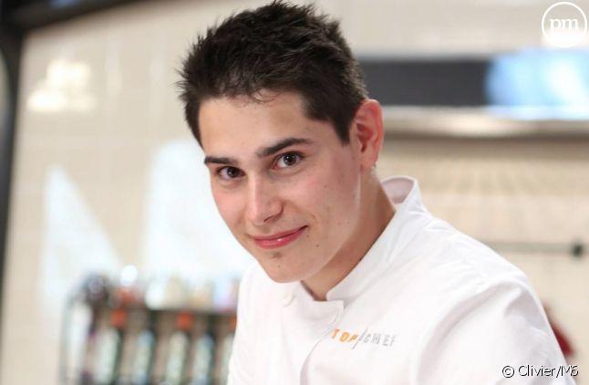 """Xavier Koenig, finaliste de """"Top Chef"""" 2015"""