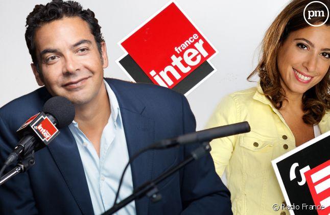 Patrick Cohen et Léa Salamé (France Inter).
