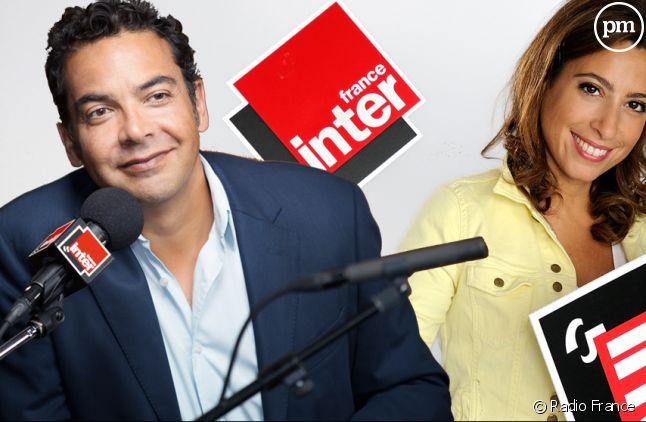 Patrick Cohen et Léa Salamé (France Inter)