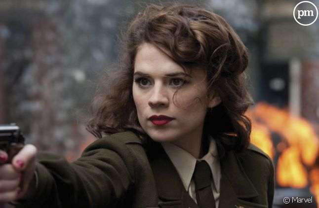 "Haley Atwell dans ""Agent Carter"""