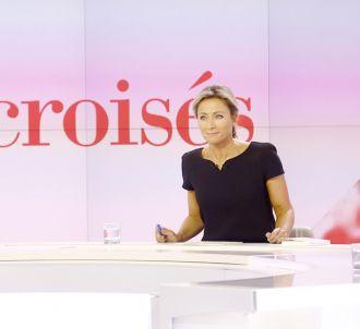 Anne-Sophie Lapix ne présentera plus 'Mots Croisés'