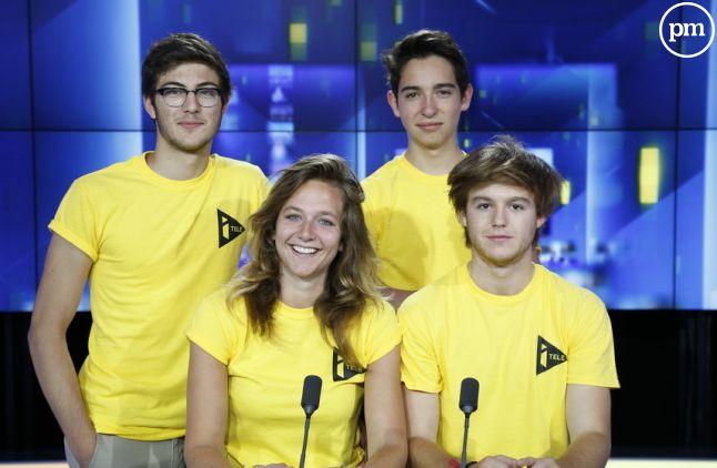 <span>Kelly, Jean, Antoine et Louis, l'équipe de <span>#IDTC</span></span>