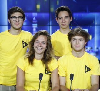 <span>Kelly, Jean, Antoine et Louis, l'équipe de...