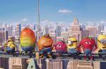 Pub : Les Minions se mélangent aux p'tits fruits d'Oasis