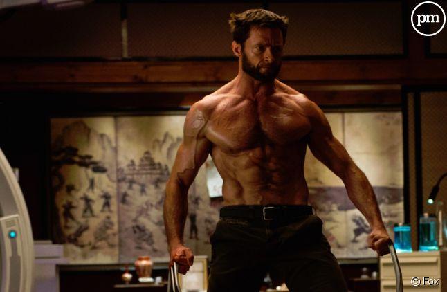 "Hugh Jackman est ""Wolverine"""