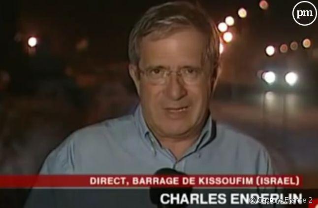 Charles Enderlin en 2005