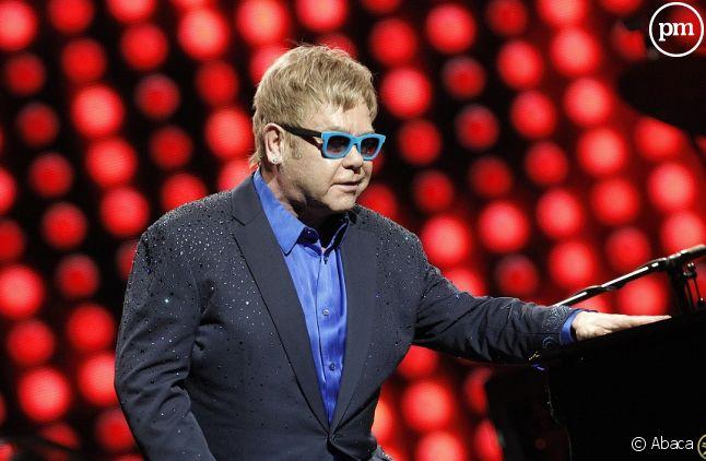 Elton John en concert à Madrid