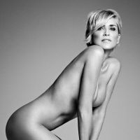 A 57 ans, Sharon Stone pose nue avec Photoshop