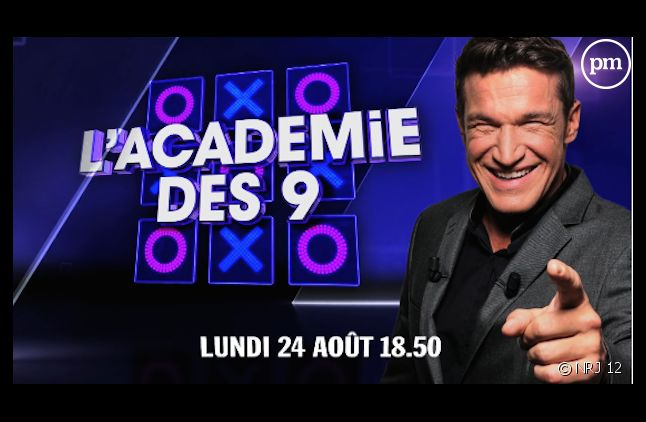 "Benjamin Castaldi relance ""L'Académie des neuf"""