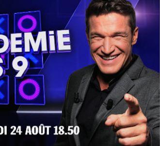 Benjamin Castaldi relance 'L'Académie des neuf'