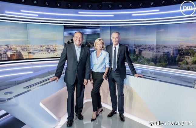 Le nouveau décor des JT de TF1