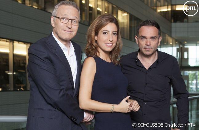 Laurent Ruquier, Léa Salamé et Yann Moix