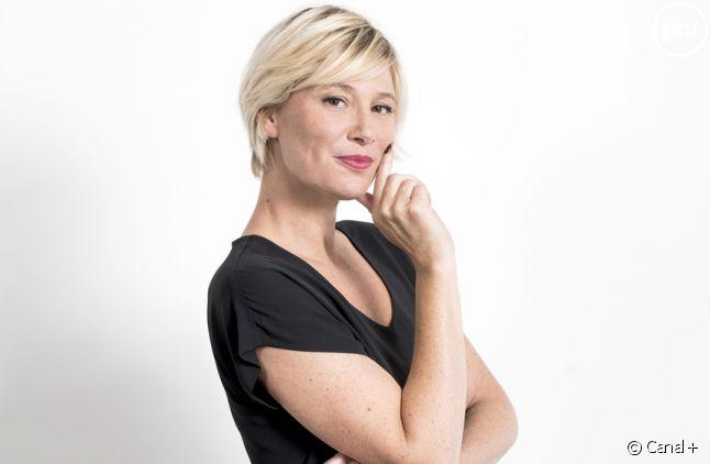 "Maïtena Biraben, nouvelle animatrice du ""Grand Journal""."
