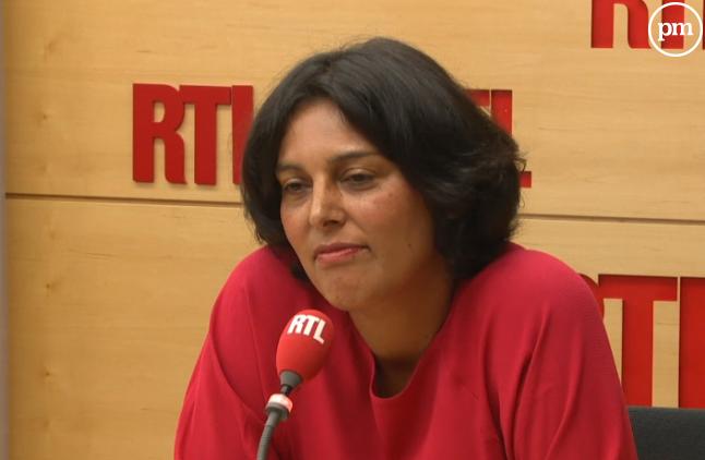 La nouvelle ministre du Travail, Myriam El Khomri.