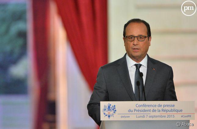 1,1 million de téléspectateurs pour François Hollande