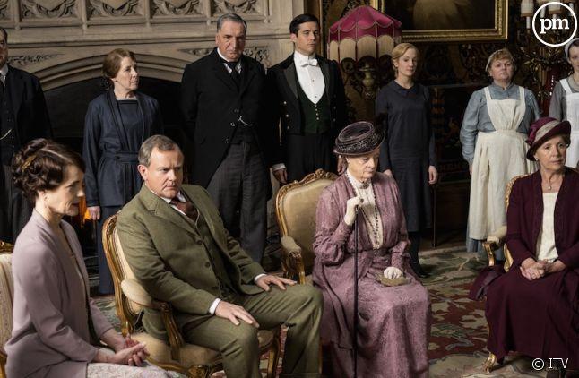"""L'ultime épisode de """"Downton Abbey"""", un carton d'audience"""