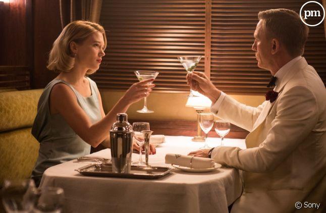 """Lea Seydoux et Daniel Craig dans """"Spectre"""""""