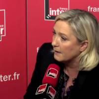 France Inter : Marine Le Pen quitte le studio après le fact-checking de ses propos