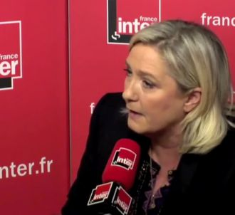 Marine Le Pen sur France Inter.