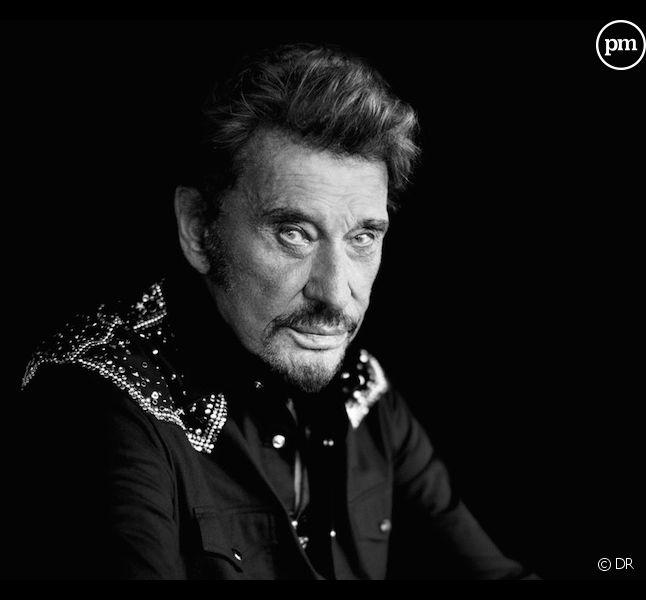 """L'album """"De l'amour"""" de Johnny Hallyday en tête des charts"""