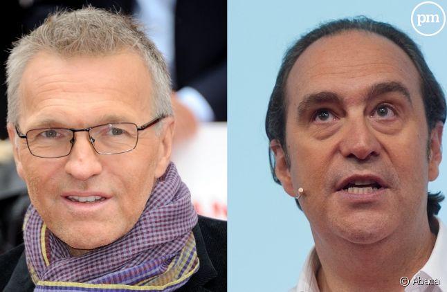 Laurent Ruquier et Xavier Niel