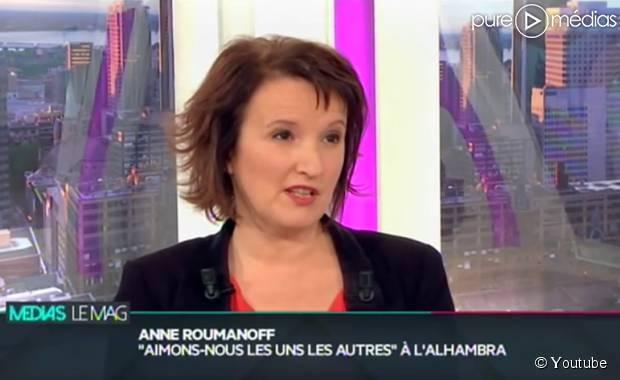 Anne roumanoff raconte sa soir e du 13 novembre vid o for Jean dujardin deprime