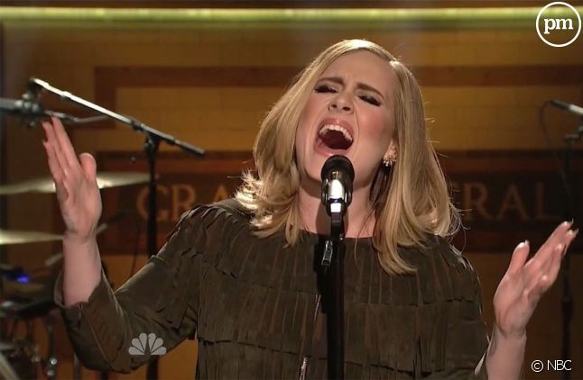 "Adele dans ""Saturday Night Live"""