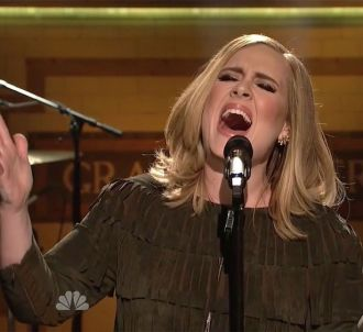 Adele dans 'Saturday Night Live'
