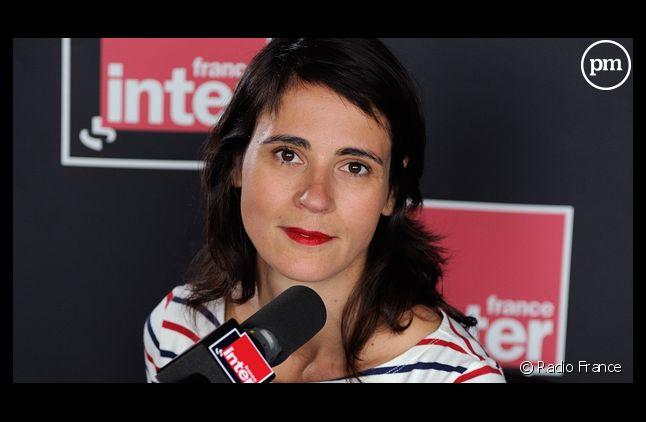 """Sonia Devillers présente """"L'Instant M"""" sur France Inter."""