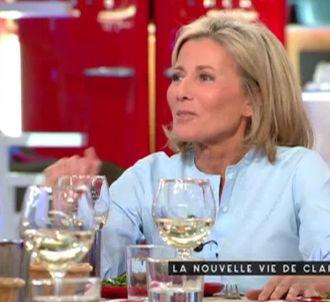 Claire Chazal, sur France 5.