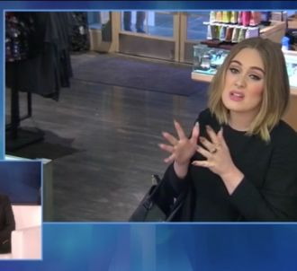 Adele dans une caméra cachée