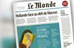 """Audiences presse : """"Le Monde"""" devant """"Le Figaro"""", """"Télé Loisirs"""" et """"20 minutes"""" dans le Top 5"""