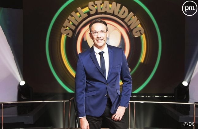 "Julien Courbet aux commandes de ""Still Standing"""