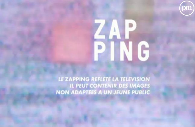 """""""Le Zapping"""", Canal+."""