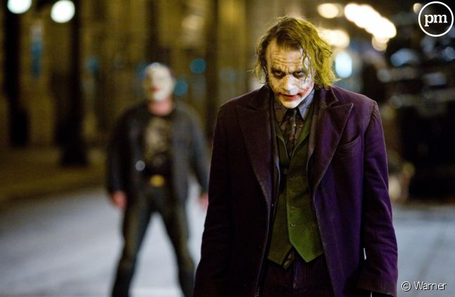 "Heath Legder dans ""The Dark Knight, le chevalier noir"""