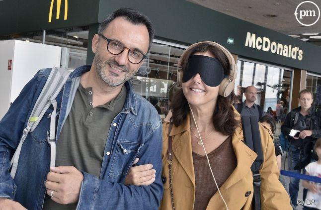 Frédéric Lopez et Cristiana Reali