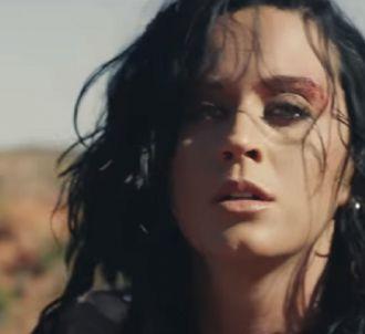 Katy Perry dans son nouveau clip 'Rise'.
