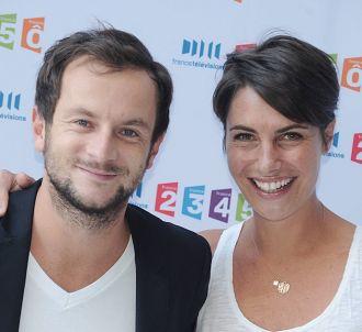 Jérémy Michalak et Alessandra Sublet